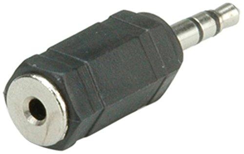 ROLINE Stereo Adapter 3,5 mm Stecker - 2,5 mm Buchse