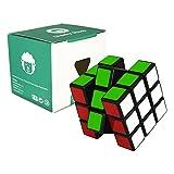 Speed Cube 3x3 - schwarz - 3x3x3 Zauberwürfel Speedcube -