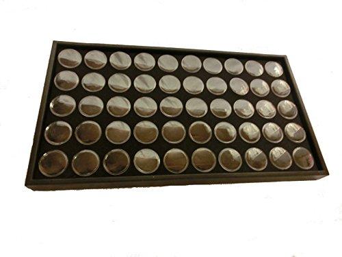 ネイル パーツ ケース 収納 ディスプレイ ボックス 50ボトル