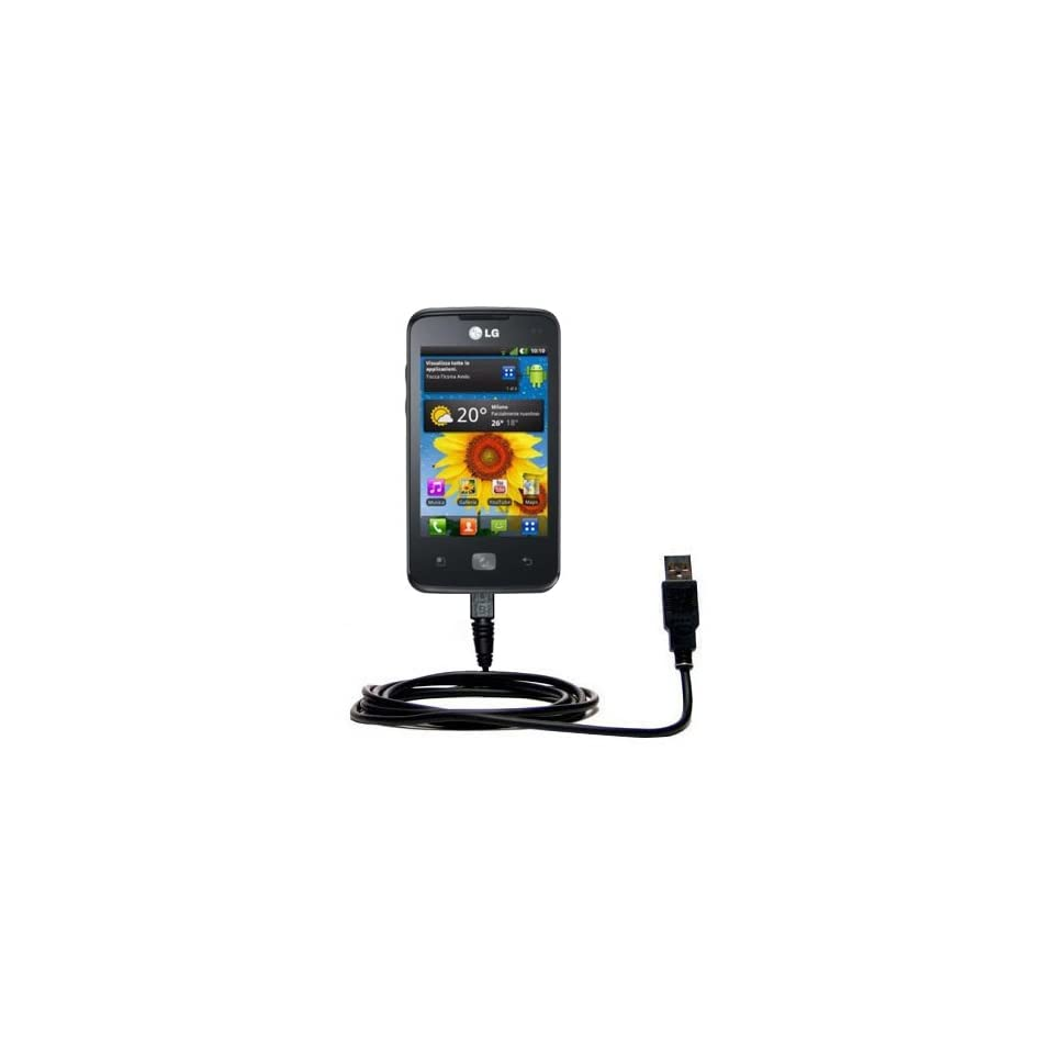 Uses Gomadic TipExchange Technology Classic Straight USB Cable for the Cricket TXTM8 3G with Power Hot Sync and Charge Capabilities