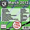 All Star Karaoke March 2012 Pop and Country Hits (ASK-1203)