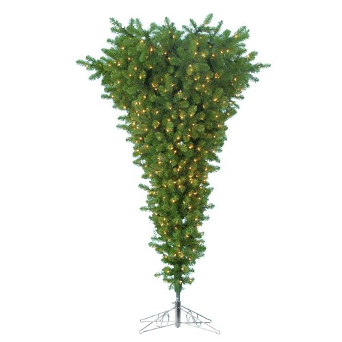 Kurt Adler Pre-Lit Upside Down Tree, 5-Feet