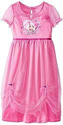 Komar Kids Big Girls' Barbie Dressy Gown