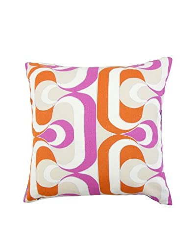 The Pillow Collection 18 Tangers Pillow, Orange