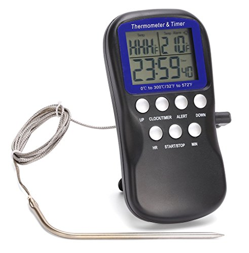 Blive Digital Premium Meat Thermometer with Probe DTH-11K. (Roast Thermometer compare prices)