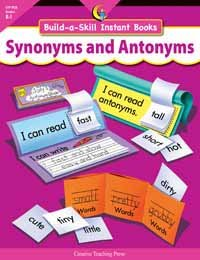 Synonyms & Antonyms Build-a-skill - 1
