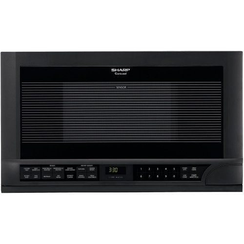 Why Choose Sharp R-1210 1-1/2-Cubic-Foot 1100-Watt Over-the-Counter Microwave, Black