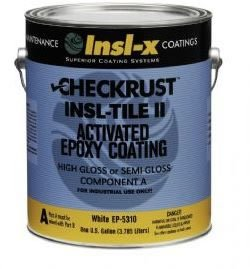 Insl x Insl Tile II Epoxy Kit White A two Component 1 1 Ratio Activated Polyamide Epoxy 4Pk