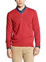 Piacenza cashmere Jersey (Rojo)