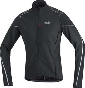 Gore Bike Wear Men's Alp-X 2.0 Thermo Longsleeve Jersey - Black, Medium