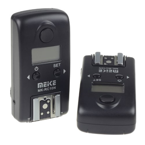 Meike® Mk-Rc10N 1/8000S Wireless Lcd Ttl Studio Flash Trigger For Nikon Camera