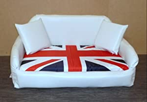 Union Jack Dog Bed Covers