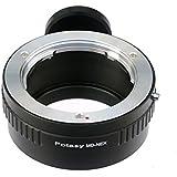Fotasy NAMDT Pro Minolta MD MC Lens to Sony NEX E-Mount Camera Adapter with Tripod Mount (Black)