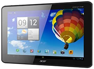 Acer Iconia A510-10k32u 10.1-Inch Tablet (Olympic Edition-Black)