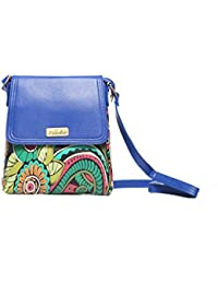 Echelle Faux Leather Floral Sling Bag - B01GI3AJ08