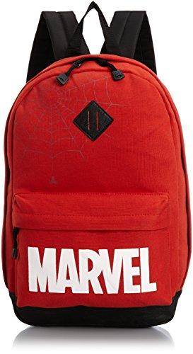 [スパイダーマン] Spider-Man スパイダーマン MARVELロゴ デイパックリュック 11089 RE (赤)