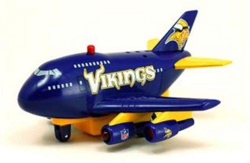 Minnesota Vikings Pullback Airplane Toy - 1
