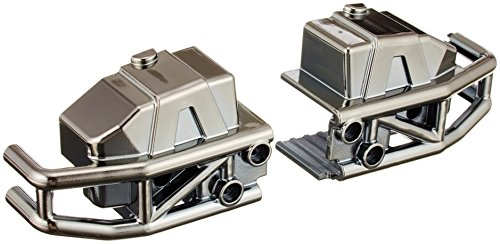 Traxxas 6935 Bumper Front Black Chrome Left and Right, Funny Car - 1
