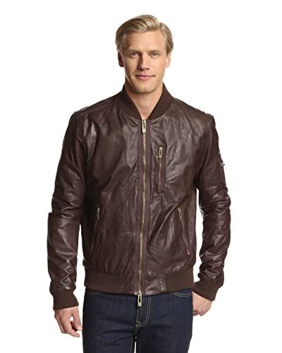 Rogue Men's Baseball Leather Jacket