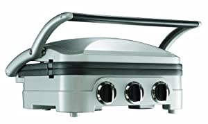 Cuisinart GR4NU Commercial Grade Stainless Steel Griddle and Grill