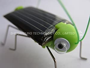 Neewer Adorable Solar Power Robot Insect Bug Locust Grasshopper Toy kid