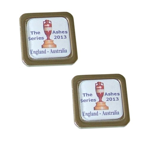 Cricket fans cufflinks - England - Australia Ashes Trophy Cricket Cufflinks