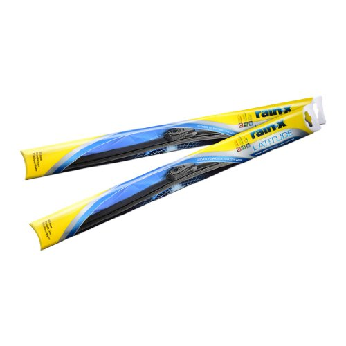 Rain-X Latitude 5079283 Ultimate Performance Curved Wiper Blade for All-Weather Conditions, 17