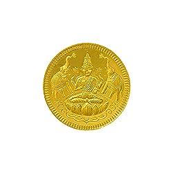 Joyalukkas 22k (916) 4 gm BIS Hallmarked Yellow Gold Precious Coin