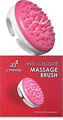 Best Cheap Deal for Art Naturals Cellulite Massager & Remover Brush Mitt - Best Natural Solution for Eliminating Cellulite on Arms, Legs, Thighs & Body - Ergonomic Design for Gentle & Effortless Massaging & Exfoliating by Art Naturals - Free 2 Day Shippin