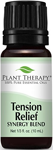 Tension Relief (Headache Relief) Synergy Essential Oil. 10 ml (1/3 oz). 100% Pure, Undiluted, Therapeutic Grade.