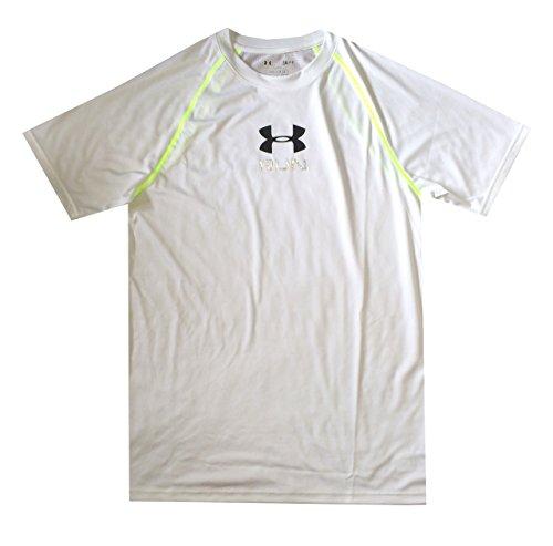 Under Armour Men UA Tech RUN HeatGear® Loose T-Shirt (XXL, White)