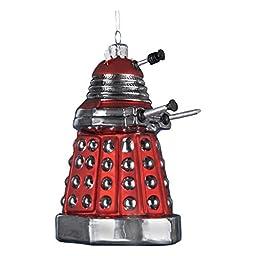 Kurt Adler 5-Inch Doctor Who Red Dalek Robot Ornament