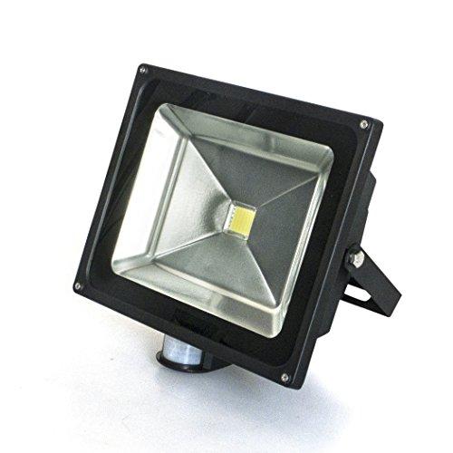 50-Watt Led Dawn Light Sensor, Motion Activated Protection Spotlight Wash Garden Outdoor Wall Waterproof Flood Light