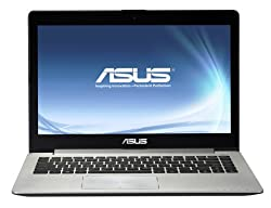 Asus S400CA 14-inch VivoBook Touchscreen Laptop (Intel Core i3 3217U 1.8GHz, 4GB RAM, 500GB HDD, LAN, WLAN, Webcam, BT, Integrated Graphics, Windows 8)