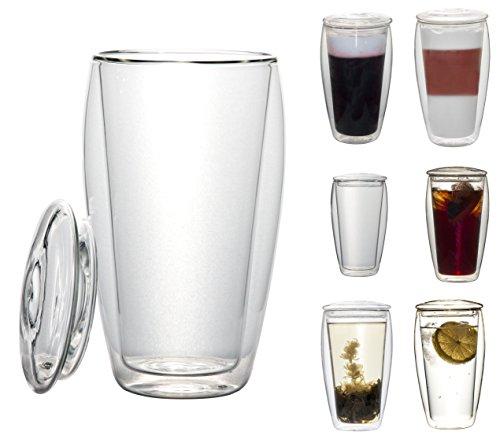 1-x-XL-400-ml-En-verre-thermique--double-paroi-avec-couvercle-en-verre-de-verre-thermique-Effet-de-suspension-idal-pour-th-glac-bureau-les-voyages-ou-comme-cadeau-labionda-de-Feelino
