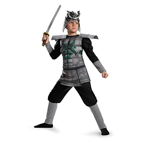 Disguise 85336L Samurai Muscle Costume, Small (4-6)