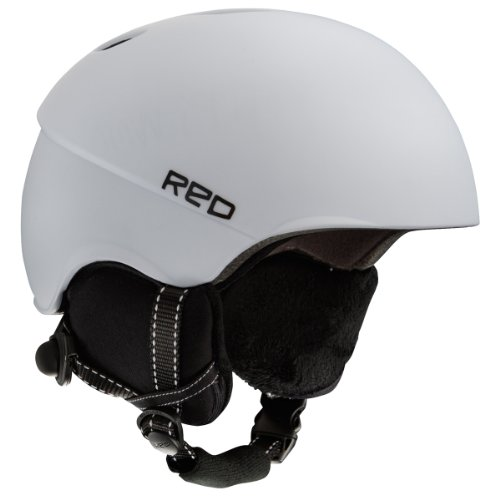 Red Hi-Fi Women's Helmets - White, X-Small