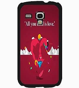 ColourCraft Love Image Design Back Case Cover for SAMSUNG GALAXY S3 MINI I8190