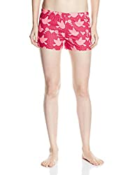 Rattrap Women's Cotton Shorts (COREBOXDPNK142_D Pink 142_X-Large)