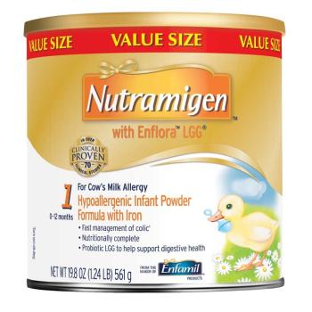 Nutramigen with Enflora LGG* is specially designed to manage colic.**