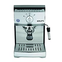 KRUPS XP5240 Pump Espresso Machine with KRUPS Precise Tamp Technology and Stainless Steel Housing Silver