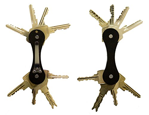 vima-key-holder-organzier-smart-durable-and-compact-for-up-to-12-keys-black