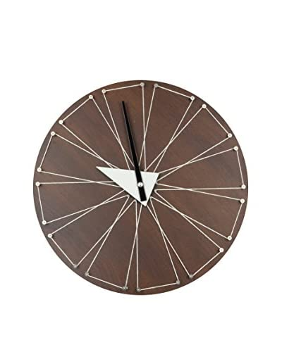Aviva Stanoff Walnut String Clock, Natural