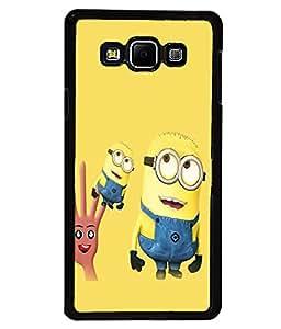printtech Minions Back Case Cover for Samsung Galaxy A8::Samsung Galaxy A8 A800F