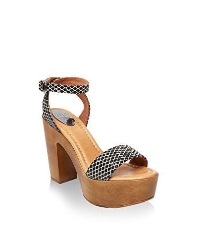 UMA Sandalo Con Tacco Carmen [Nero]