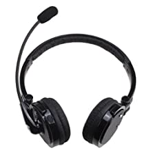 buy Ecsem Gaming Game Bluetooth Stereo Headphones Headset Earphone Over The Head Boom Mic Microphone And 12 Hour Talk Time 4 Hours Noise Cancelling For Cell Phones Computers
