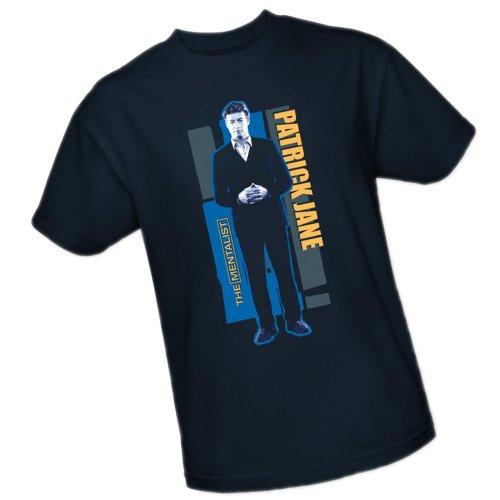 Patrick Jane -- The Mentalist Adult T-Shirt, X-Large front-967367