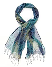 Classic Collection Pure Modal Lightweight Palma Floral Scarf