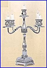 Shabbat Candlestick Holders. 5 Branch