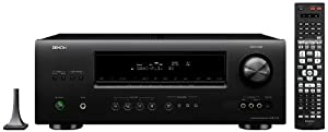 Denon AVR-1712 A/V Surround Receiver (Black) (Discontinued by Manufacturer)